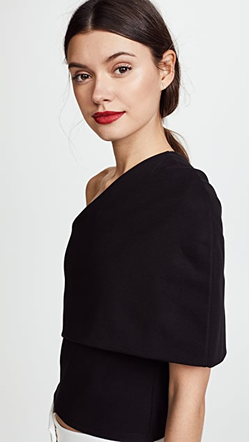 Michelle Mason Asymmetric Cocoon Top