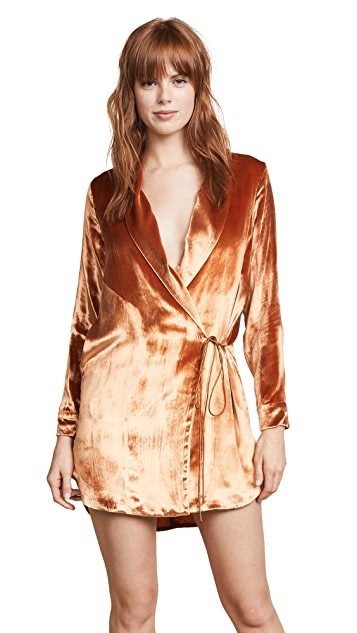 Michelle Mason Wrap Dress Jacket