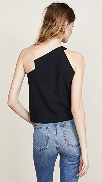 Michelle Mason One Shoulder Top