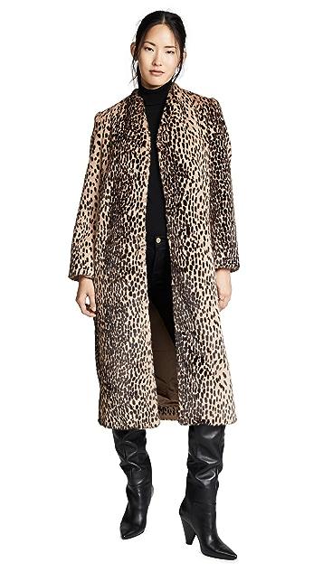 Michelle Mason Faux Fur Coat
