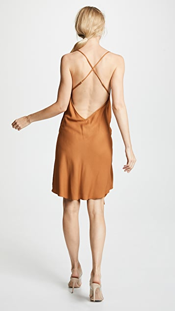 Michelle Mason Draped Cami Mini Dress