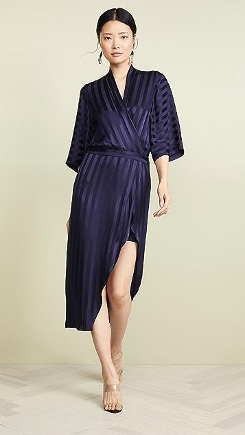 Michelle Mason Kimono Sleeve Dress