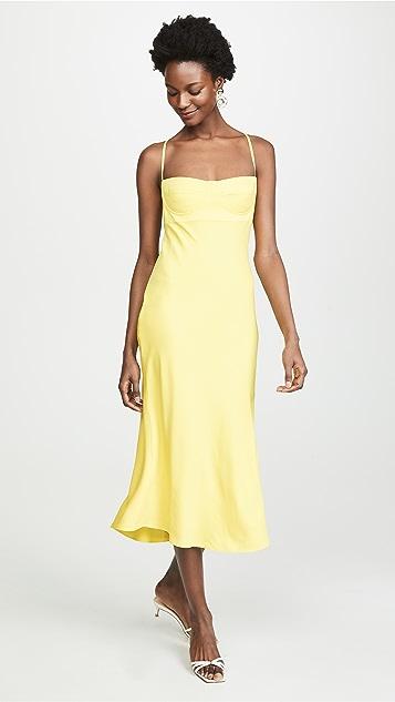 Michelle Mason Платье-бюстье средней длины