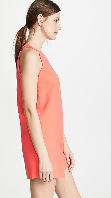 Michelle Mason 单肩直筒连衣裙