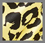 荧光黄色豹纹