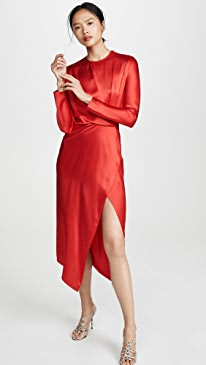Origami Midi Dress
