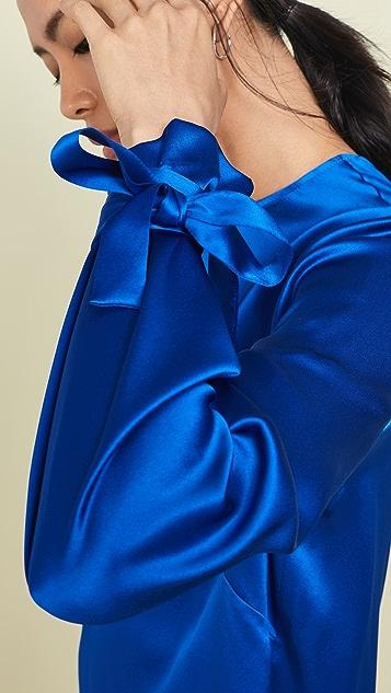 Michelle Mason Топ с одним рукавом