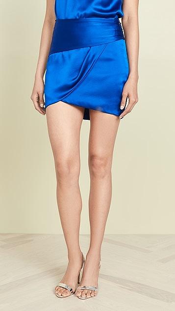 Michelle Mason 褶皱迷你裙