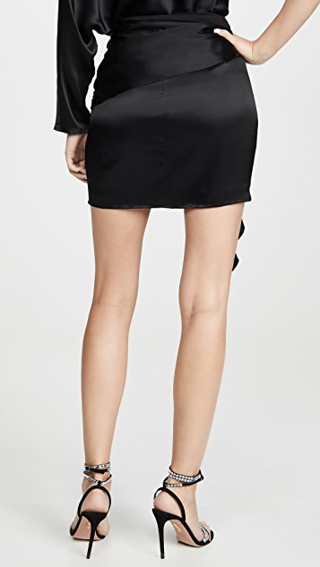 Michelle Mason Miniskirt with Sash