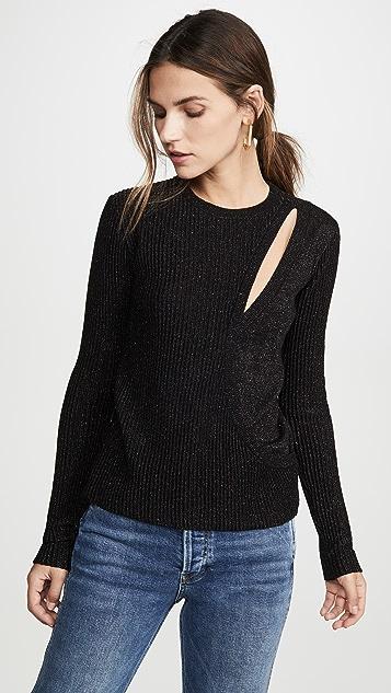 Asymmetrical Layered Sweater by Michelle Mason