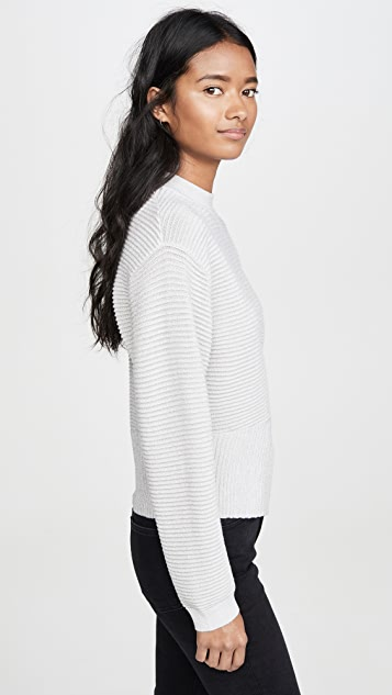 Michelle Mason Long Sleeve Twist Sweater