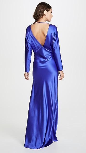 Michelle Mason Dolman Sleeve Gown