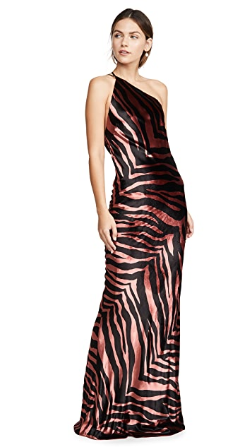 Michelle Mason Zebra Gown