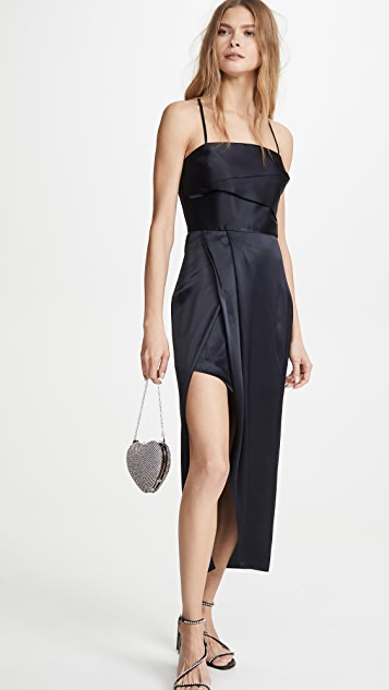 Michelle Mason 镶边连衣裙