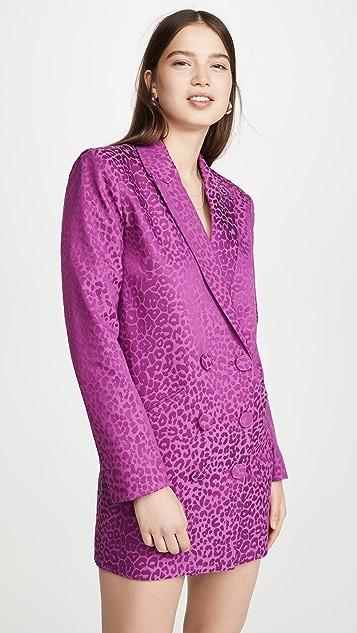 Michelle Mason 超大外套式连衣裙