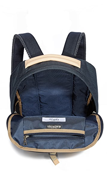 Master-Piece x FDMTL Denim Patchwork Backpack
