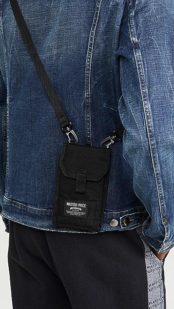 Master-Piece Quick Wallet Shoulder Bag