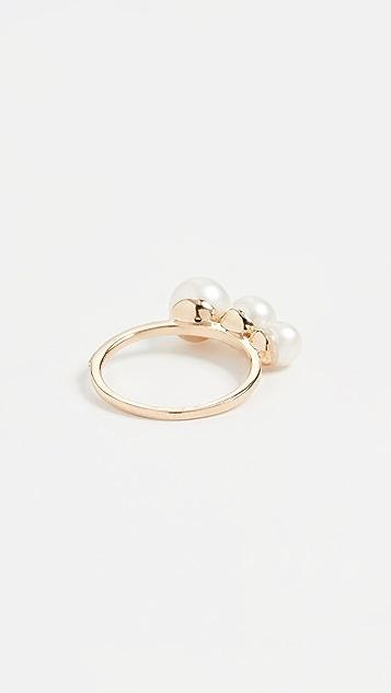 Mateo 三珍珠戒指