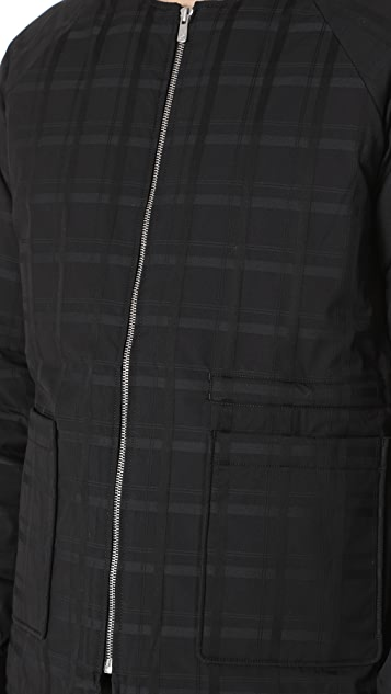 Matiere Wheeler Monochrome Plaid Bomber