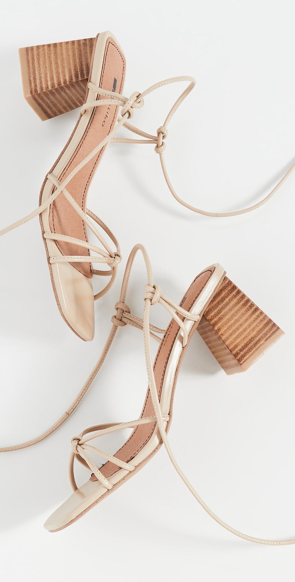 matiko beaded suede sandals