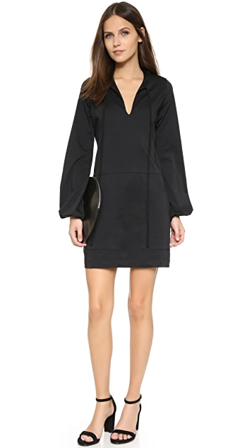MATIN Full Sleeve Tie Dress