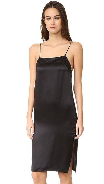 48cefdf0d00b84 MATIN Square Neck Dress