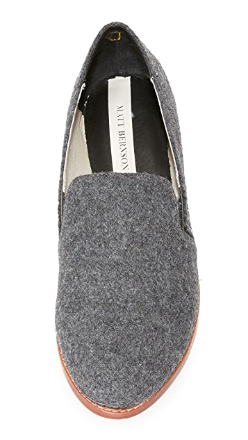Matt Bernson Ellington Wool Loafers