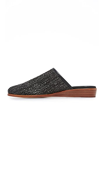 Matt Bernson Finch Raffia Demi Wedges