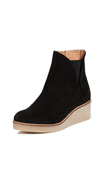 Matt Bernson Frieze Wedge Booties