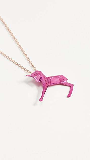 Mas Bisjoux Mini Unicorn Necklace