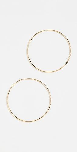 Maria Black - Senorita 70 Hoop Earrings