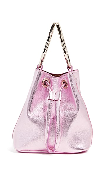 Maison Boinet Small Two Ring Bucket Bag