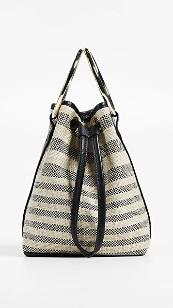 Maison Boinet Medium Two Ring Bucket Bag