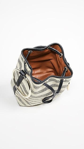 Maison Boinet Medium Two Ring Bucket Bag