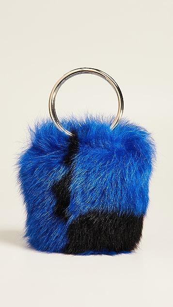 Maison Boinet XS Shearling Bucket Bag