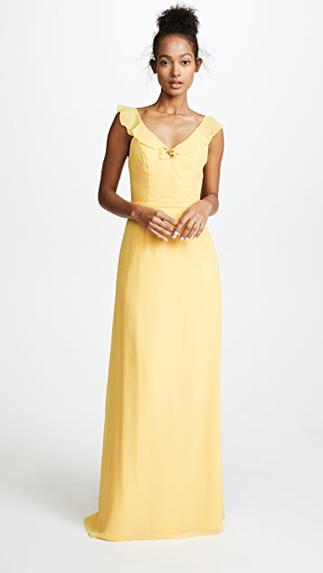 Monique Lhuillier Bridesmaids Keira Gown - Summer Glow