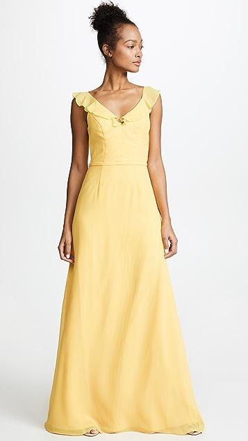 Monique Lhuillier Bridesmaids Keira Gown