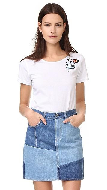 Michaela Buerger Funny Flamingos T-Shirt