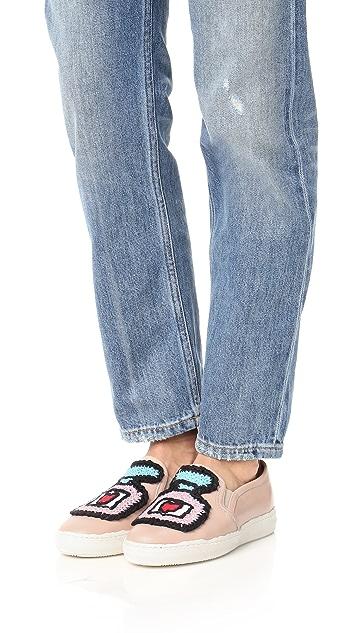 Michaela Buerger Slip On Sneakers