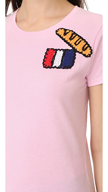 Michaela Buerger Paris Short Sleeve T-Shirt