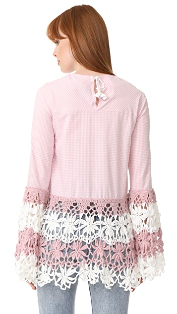 Michaela Buerger Long Sleeve Top