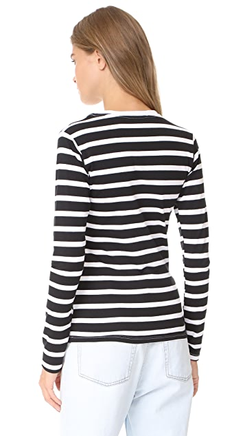 Michaela Buerger Long Sleeve Striped T-Shirt