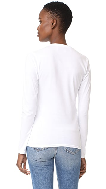 Michaela Buerger Long Sleeve T-Shirt Boom Box
