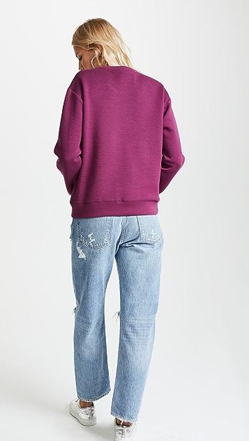 Michaela Buerger Dog Walking Sweatshirt