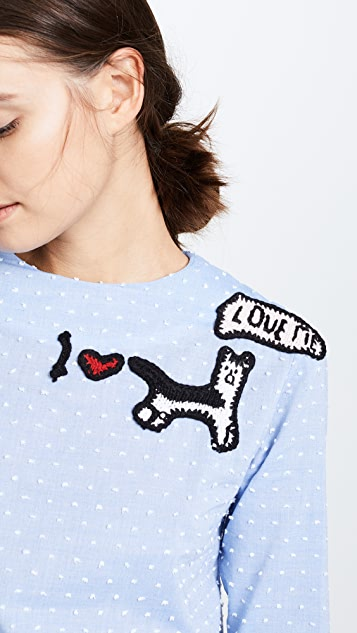 Michaela Buerger I Love My Dog Shirt