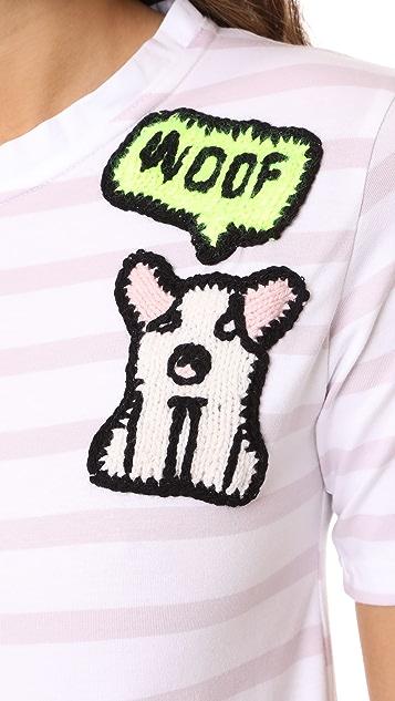 Michaela Buerger I Love My Dog T-Shirt