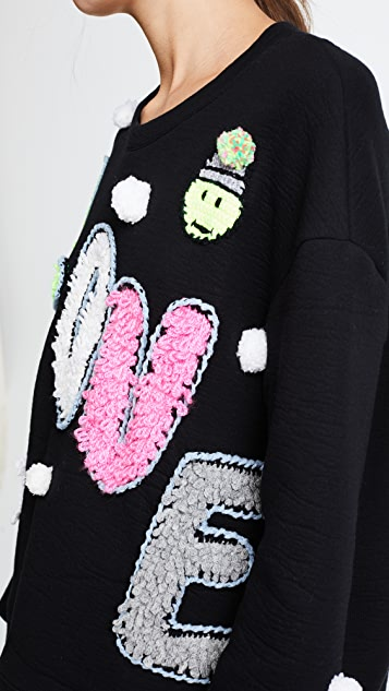 Michaela Buerger Love Oversize Sweatshirt