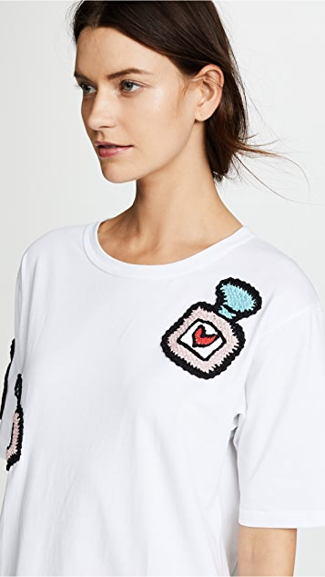 Michaela Buerger Oversize T-Shirt Dress