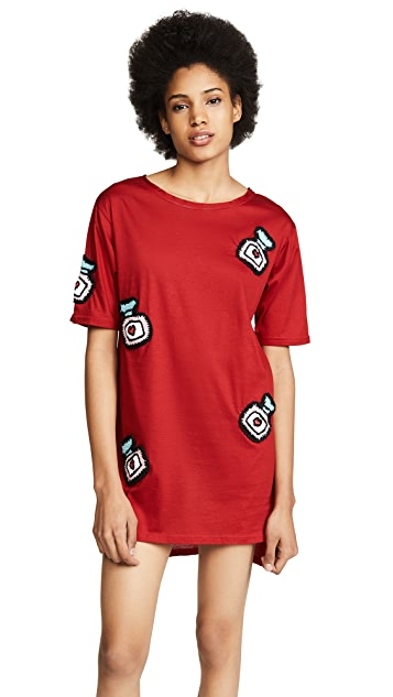 Michaela Buerger Oversize T-Shirt Dress