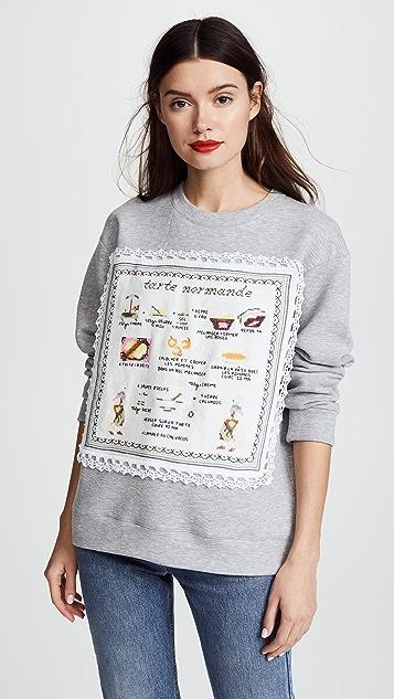 Michaela Buerger Tarte Normande Sweatshirt - Grey